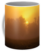 Foggy Sun Coffee Mug