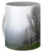 Foggy Trees In The Valley Coffee Mug