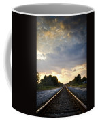 Follow The Tracks Coffee Mug