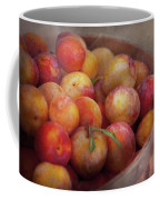 Food - Peaches - Farm Fresh Peaches  Coffee Mug by Mike Savad