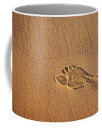 Foot Print Coffee Mug
