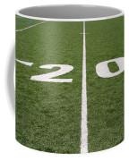Football Field Twenty Coffee Mug
