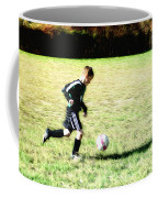 Footballer Coffee Mug