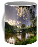 Footbridge Over The Severn  Coffee Mug