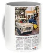 Ford Avertisement, 1959 Coffee Mug
