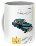 Ford Lincoln Ad, 1946 Coffee Mug