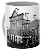 Fords Theater - After Lincolns Assasination - 1865 Coffee Mug