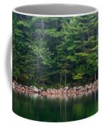 Forest At Jordan Pond Acadia Coffee Mug