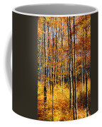 Forest Of Gold Coffee Mug