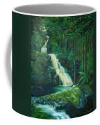 Forest Waterfall Coffee Mug