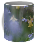 Forget-me-not And Yellow Columbine Coffee Mug