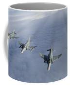 Formation Of Luftwaffe F-4f Phantom IIs Coffee Mug