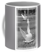 Forsyth Fountain - Black And White 3 Coffee Mug