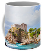Fort Lovrijenac In Dubrovnik Coffee Mug