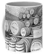 Fort Macon Food Supplies Bw 9070 3759 Coffee Mug by Michael Peychich