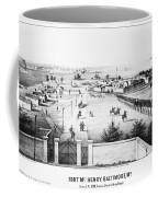 Fort Mchenry, 1862 Coffee Mug