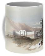 Fortress Of Akabah Arabia Petra 1839 Coffee Mug