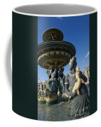Fountain At Place De La Concorde. Paris. France Coffee Mug