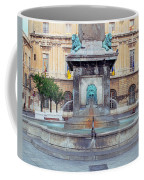 Fountain In Arles France Coffee Mug