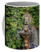 Fountain In The Walled Garden, Florence Coffee Mug