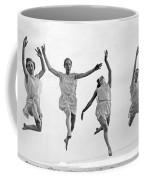 Four Dancers Leaping Coffee Mug