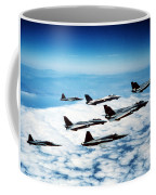 Four F-14 Tomcats And Three F-5 Tiger Coffee Mug