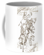 Four Mad Cowboys Of The Apocalypse Coffee Mug