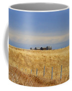 Four Outbuildings In The Field Coffee Mug