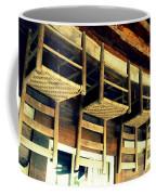 Four Wooden Chairs Coffee Mug