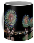 Fourt Of July In Nyc Coffee Mug by Susan Candelario