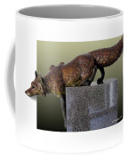 Fox On A Pedestal Coffee Mug