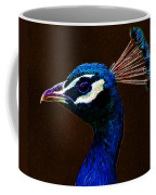 Fractalius Peacock Coffee Mug