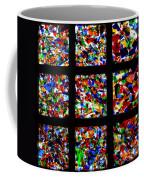 Fractured Squares Coffee Mug