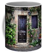 Framed In Flowers Dordogne France Coffee Mug