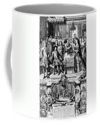 France: Baptism, 1704 Coffee Mug