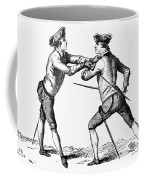 France: Fencing, C1750 Coffee Mug