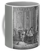 France: Gambling, C1750 Coffee Mug