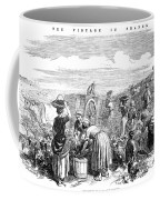 France: Grape Harvest, 1854 Coffee Mug
