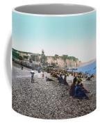 France: Resort, C1895 Coffee Mug