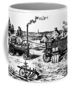 France: Steam Threshing Coffee Mug