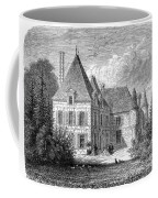 France: Wine Ch�teau, 1868 Coffee Mug