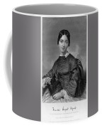 Frances Sargent Osgood (1811-1850). American Poet. Engraving From A Painting By Alonzo Chappel, C1873 Coffee Mug