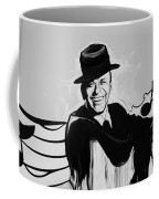 Frank In Black And White Coffee Mug