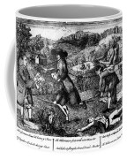 Franklin: Cartoon, 1764 Coffee Mug