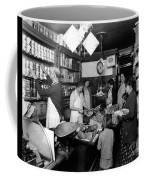 Fred Grovers Grocery Store Coffee Mug by Photo Researchers