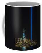 Freedom Tower And Tribute In Light Coffee Mug