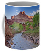 Fremont River And Castle Coffee Mug