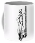 French Abolitionist, 1850s Coffee Mug