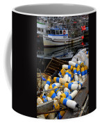 French Creek Trawlers Coffee Mug by Bob Christopher