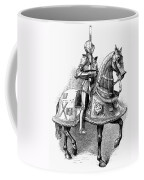 French Knight, 16th Century Coffee Mug